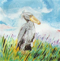 pájaro pico de pato by elena acquarone