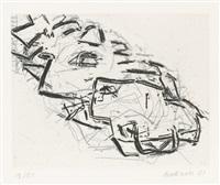 julia by frank auerbach