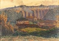 paysage a l'aqueduc by albert lemaitre