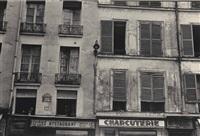 rue jacob mit 12 fenstern by ilse bing