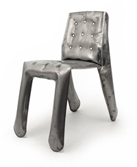 chippensteel chair raw by oskar zieta