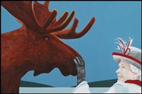love pat by charles pachter