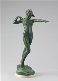 the leaf (das blatt) by harriet whitney frishmuth