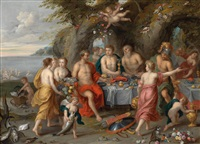 das gastmahl des acheloos by jan brueghel the younger