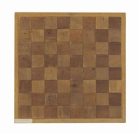 chessboard (echiquier) by marcel duchamp
