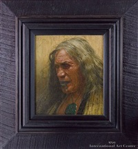 hera puna, nga - ti whanaunga - as rembrandt would have painted the maori by charles frederick goldie