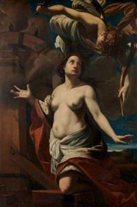 le martyre de sainte catherine d'alexandrie by simon vouet