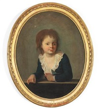 portrait of n. a. abildgaard's son marcus aurelius abildgaard (1781-1786) by nicolaj-abraham abilgaard