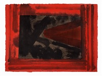 here we are in croydon by howard hodgkin