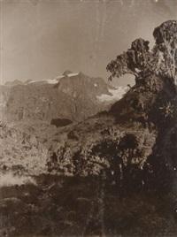 glacier bezingi, caucase. ouganda. mount stanley, république démocratique du congo (3 works) by vittorio sella