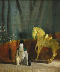 the queen and her horse by hovsep pushman