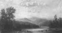 landscape with a crane by henry nesbitt mcevoy
