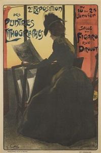 2e exposition de peintres lithographes by fernand louis gottlob