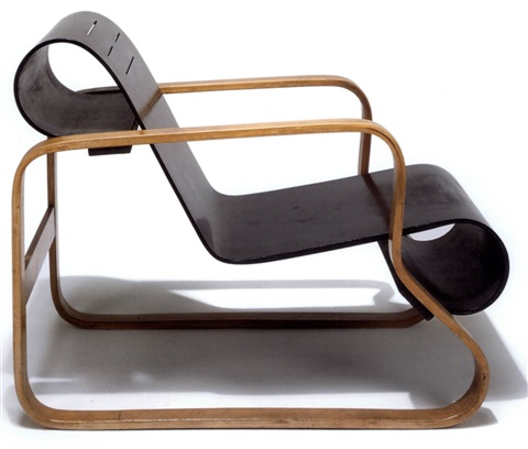 Terrific Model 41 Lounge Chair By Alvar Aalto On Artnet Pabps2019 Chair Design Images Pabps2019Com