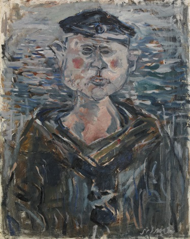 portrait of a sailor by endre nemes