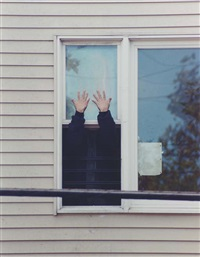 perth amboy (2 hands man) by rachel harrison