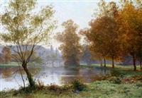 vue sur le pont by albert gabriel rigolot