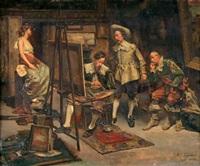 chez le peintre by maximo juderias caballero