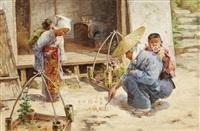 the flower seller by charles john arter