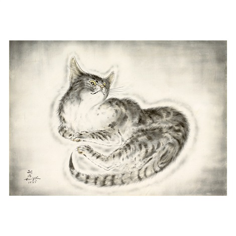 Cat By Léonard Tsuguharu Foujita On Artnet