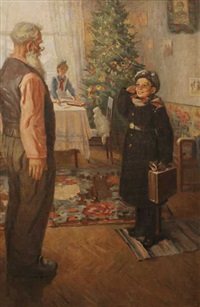 the young soldier's return by dmitri konstantinovich mochalski