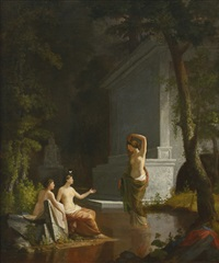 diana at the fountain by samuel f.b. morse