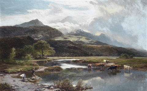 glaslyn by sidney richard percy