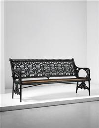waterplant' bench by christopher dresser