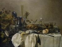 Pieter Claesz Still Life With Tazza