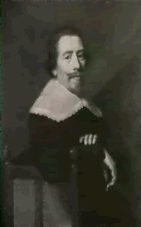 portrait d'homme by jacob van hasselt
