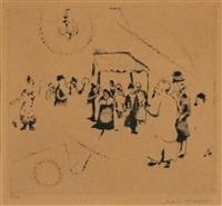 jewish wedding by marc chagall