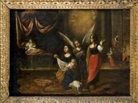 nacimiento de la virgen by matías arteaga y alfaro