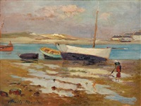 navires échoués dans la baie by vitalis morin