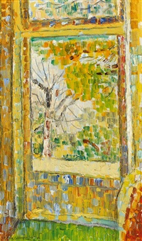 studio door by grace cossington smith