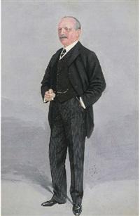 mr. archer baker, c.p.r. in europe, businessman by sir samuel luke fildes