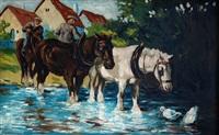 plavení koní by paul robert
