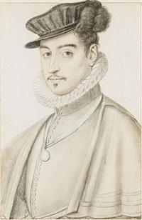 portrait d'homme by françois clouet