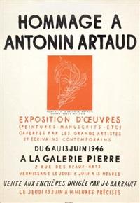 hommage à antonin artaud by antonin artaud