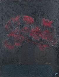 stilleben mit blumenstrauß by michael freudenberg