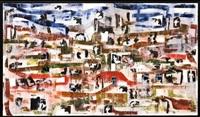paisaje de la memoria 1 (de la serie fragmentos) by josé castro leñero