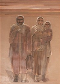 peasant family by ramiz aydin