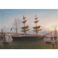 the eugenie off queenstown by george atkinson