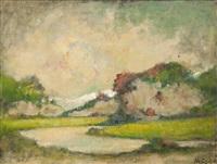 paesaggio by mario gachet
