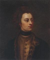 portrait of king charles 12th of sweden by jean haagen