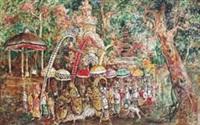 ceremony in bali by arok