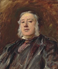 portrait of sir william agnew, 1st bt. (1825-1910) by francis montague (frank) holl