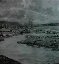 river landscape by albert reich