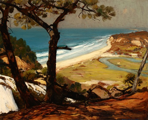 torrey pines san diego ca by alfred richard mitchell