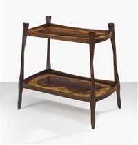 two-tiered table by louis majorelle