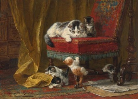 mothers pride by henriette ronner knip